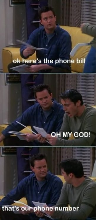 The phone bill
