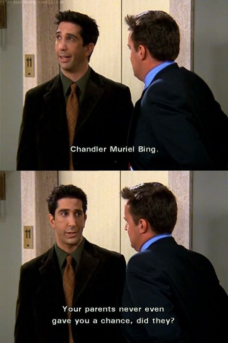 chandler middle name